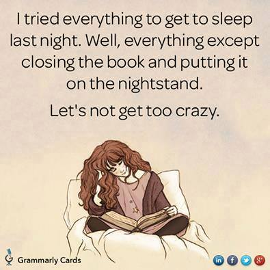 book and sleep