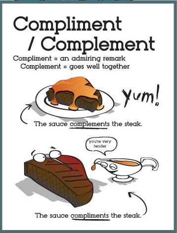 complimentvscomplement