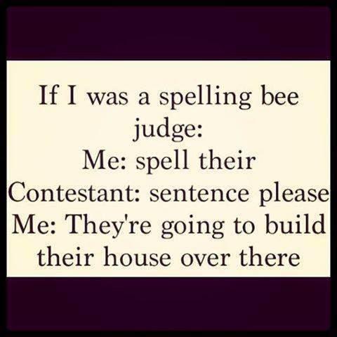 spelling bee judge