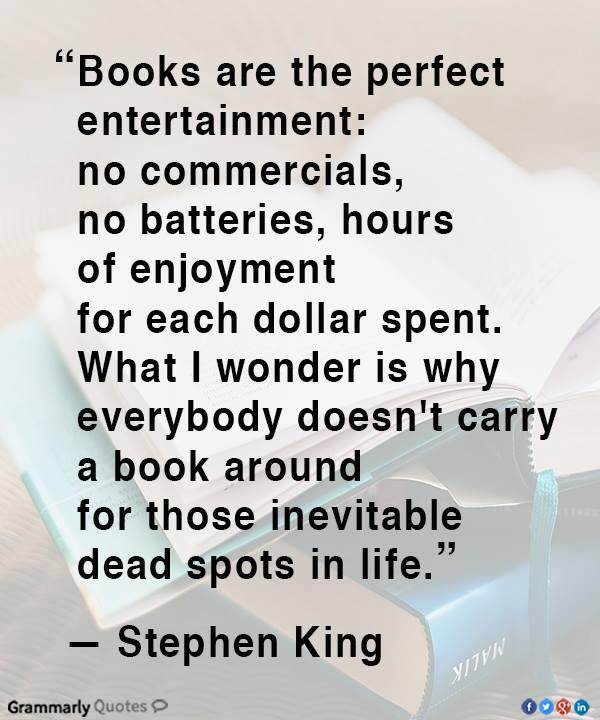 carry a book?