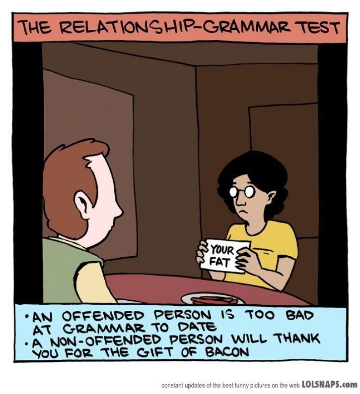 relationship grammar test