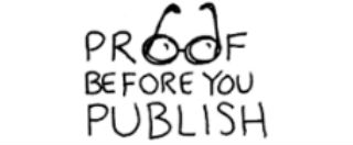 Proof Before You Publish