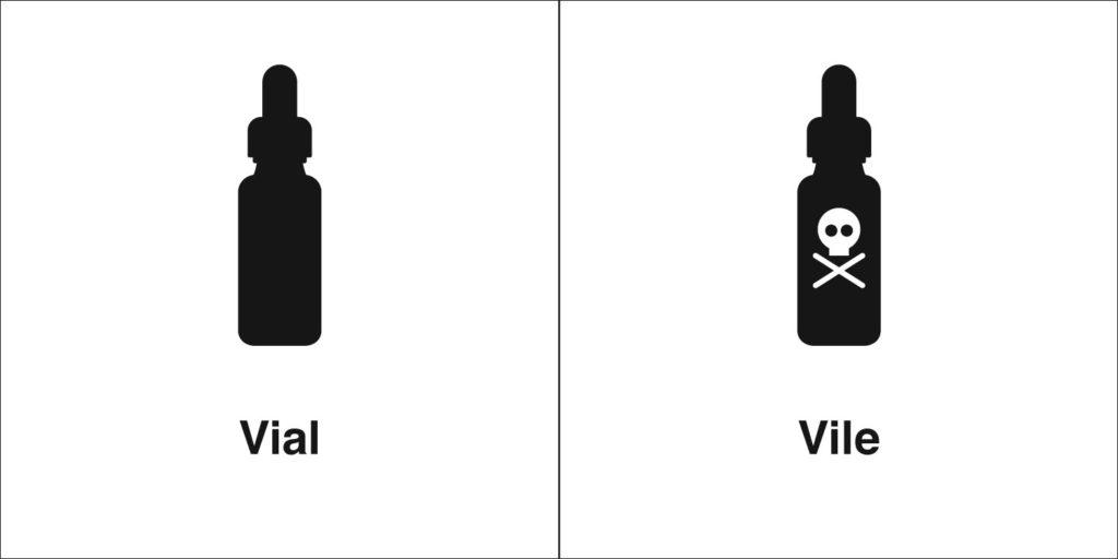vial vile